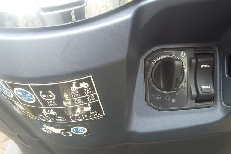 Kunci motor keyless