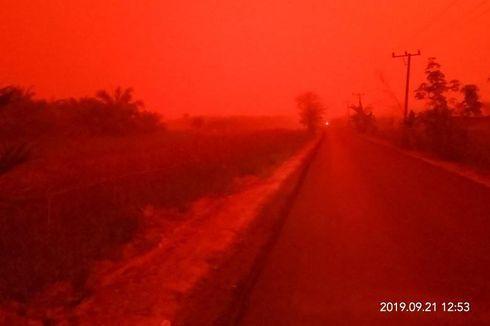 Viral Langit Merah di Muaro Jambi, Ada Apa?