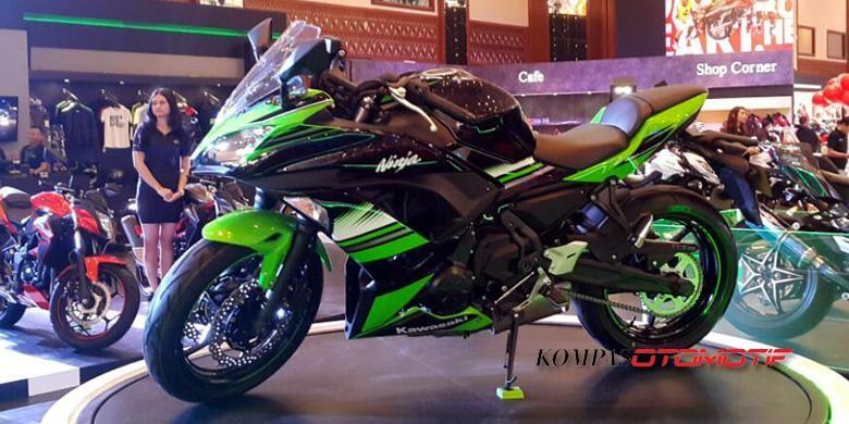 Kawasaki Ninja 650 mejeng di IMOS 2016.