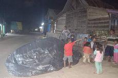 Hebohkan Warga, Balon Udara Setinggi 7 Meter Jatuh di Depan Rumah
