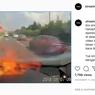 Viral, Video Gawai Meledak di Dasbor Mobil