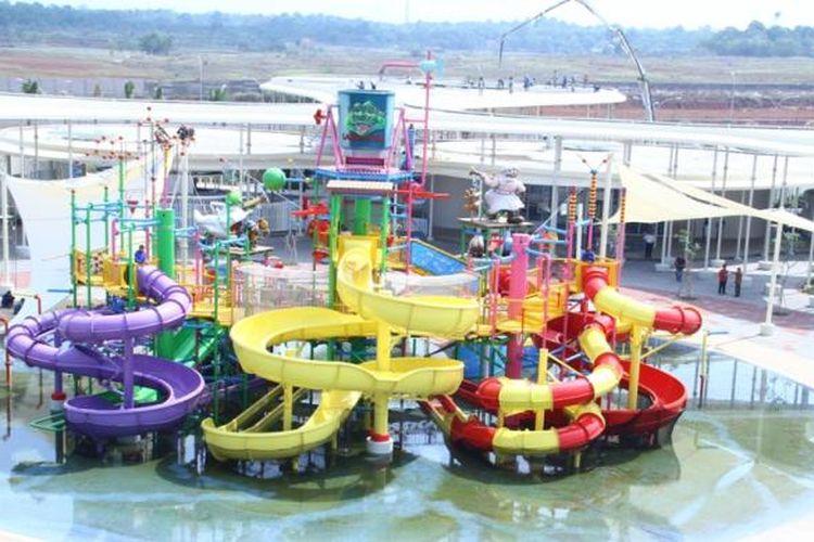 Go!Wet Water, di Grand Wisata, Bekasi.