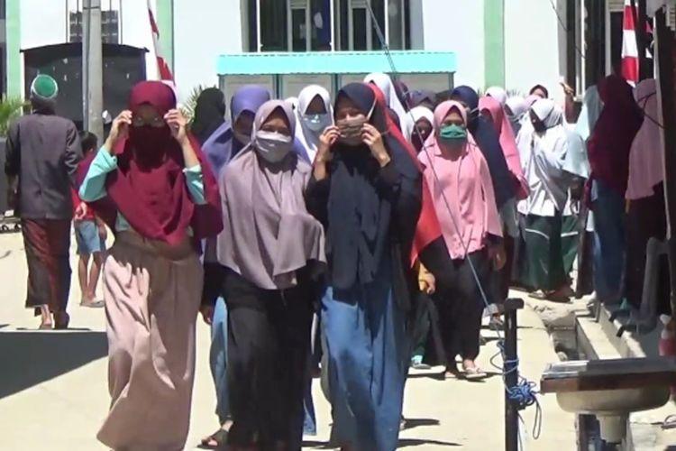 17 Santri Positif Covid, Pesantren Salafiyah Polman Ditutup