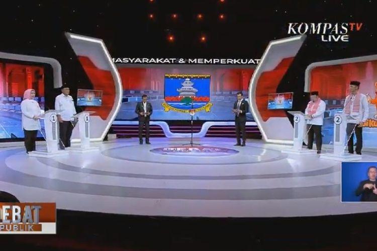 Debat Pilkada Serang