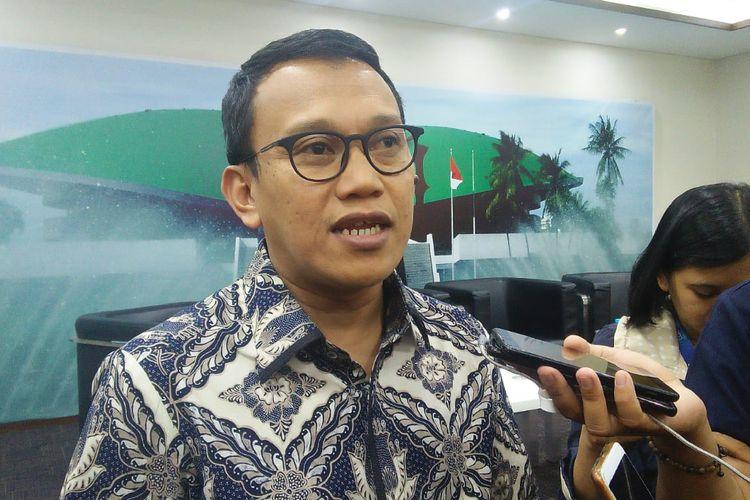 Ketua DPP PKB Abdul Kadir Karding, di Kompleks Parlemen, Senayan, Jakarta, Jumat (5/7/2019)