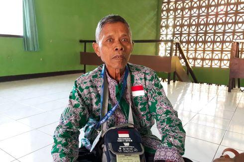 Pengais Bunga Kamboja Itu Akhirnya Berangkat Haji...