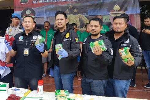 Polisi Tangkap Komplotan Jaringan Narkoba Internasional, Barbuk 23,5 Kg Sabu