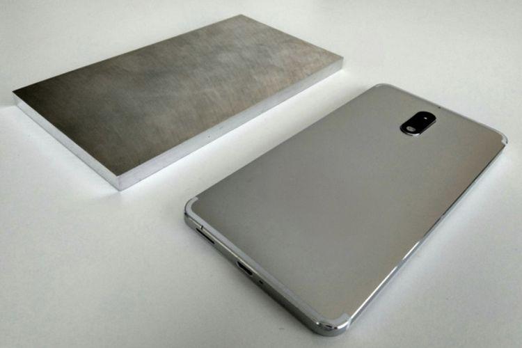 Balok aluminium seri 6.000 dan prototype Nokia 6.