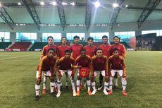 Ikuti Turnamen di Qatar, Timnas U-15 Bertemu dengan Legenda Barcelona