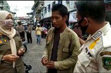 Tidak Hafal Pancasila, Pria yang Tak Pakai Masker Ini Pilih Baca Al Fatihah