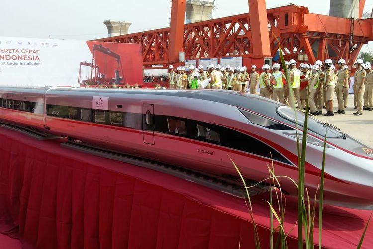 Prototype Kereta Cepat Jakarta-Bandung