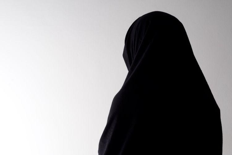 Ilustrasi jilbab.
