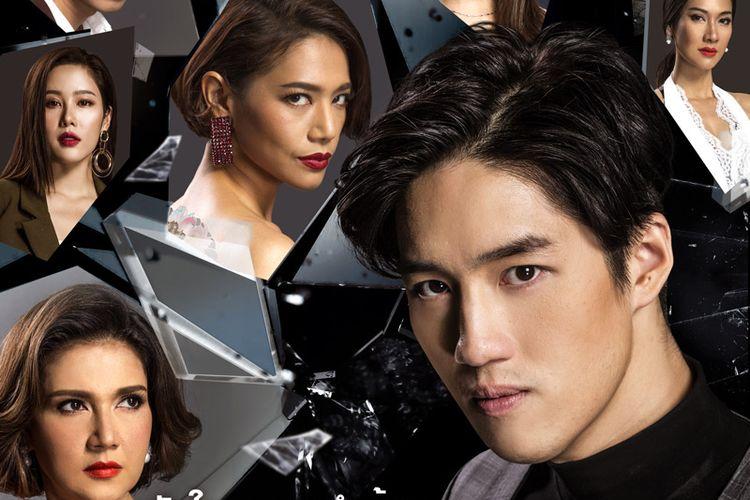 Poster serial Thailand Man of Vengeance atau Hua Jai Sila