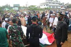 Bharatu Supian, Anggota Brimob yang Gugur di Papua Dimakamkan di Kampung Halaman