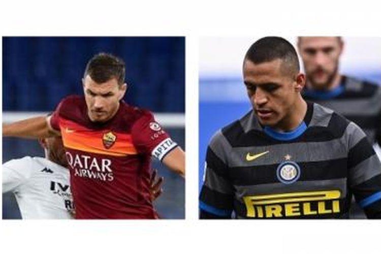 Petinggi Inter Milan, Giuseppe Marotta, menembak jatuh isu transfer tukar pemain dengan AS Roma yang dikatakan melibatkan Alexis Sanchez dan Edin Dzeko.