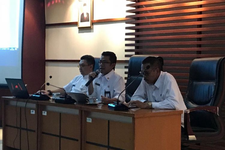 Konferensi pers Badan Kepegawaian Negara (BKN) soal sebaran titik seleksi kompetensi dasar di Kantor Pusat BKN, Jakarta Timur, Rabu (24/10/2018).