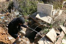Pasukan Rezim Suriah Dituduh Jarah Makam di Kota Harasta