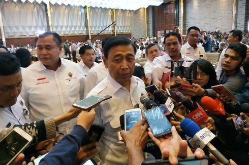 Di Rakornas Pemilu 2019, Wiranto Jelaskan soal Pembubaran Organisasi Terlarang