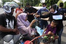 Jual Cincin Emas, Wanita di Aceh Sumbangkan Masker dan Hand Sanitizer ke Driver Ojol