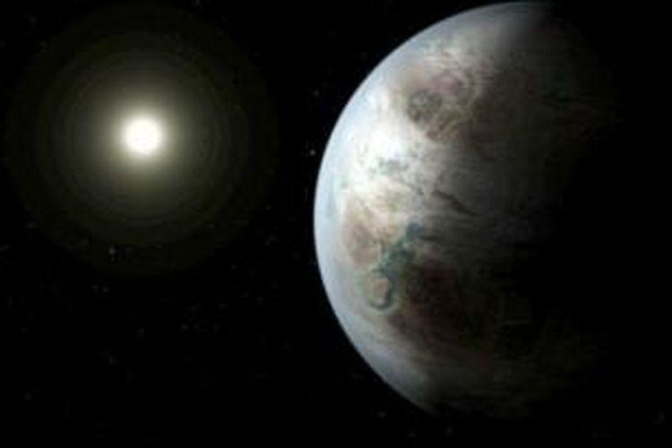 Periode orbit Kepler 452b sangat mirip dengan Bumi.