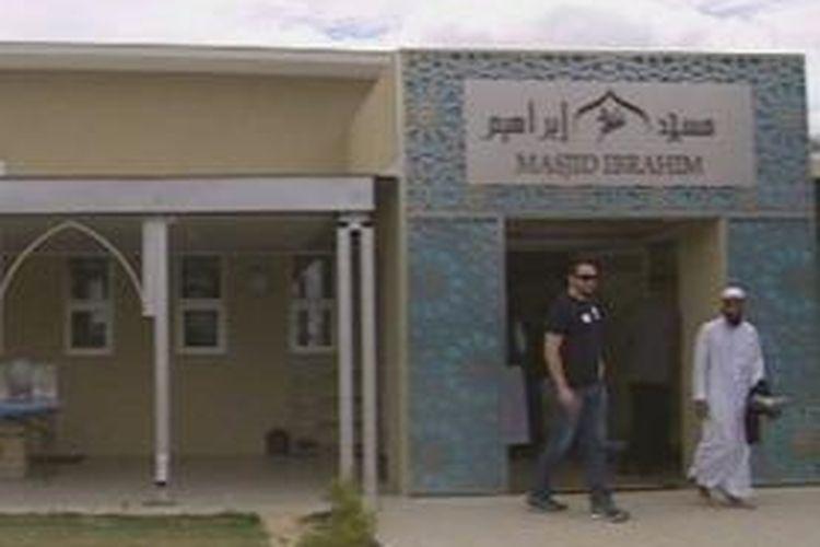 Masjid Ibrahim di Perth, Australia.