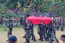 Isak Tangis Keluarga Sambut Jenazah Prada Ardi Yudi, Prajurit yang Gugur Dianiaya OTK di Papua