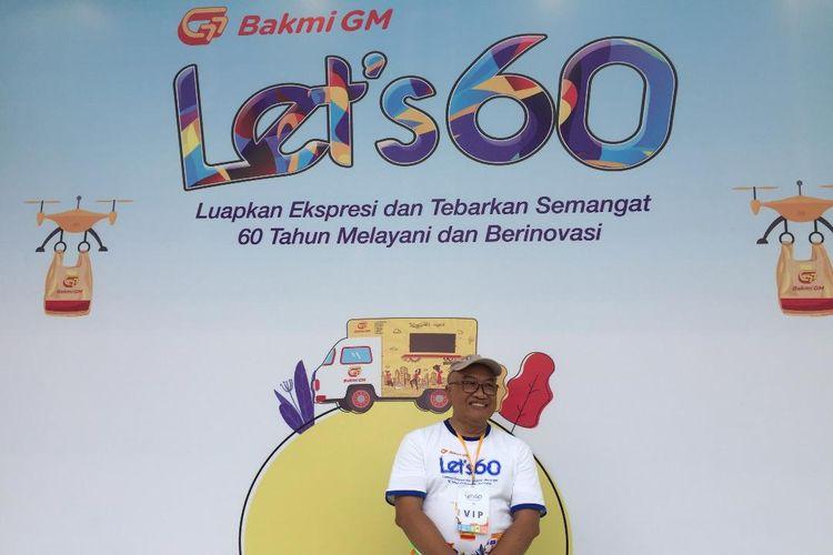 Widianto, Director of Div. Engineering & Service PT Griya Miesejati (Bakmi GM) di acara HUT Bakmi GM ke 60.