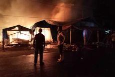 Pasar Kambang Pesisir Selatan Terbakar, Kerugian Capai Rp 6,1 Miliar