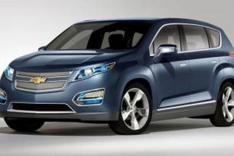 Chevrolet Volt MPV5 Concept yang muncul pertama kali di Beijing. Kemungkinan modelnya akan berubah lebih ke arah crossover, bukan MPV.