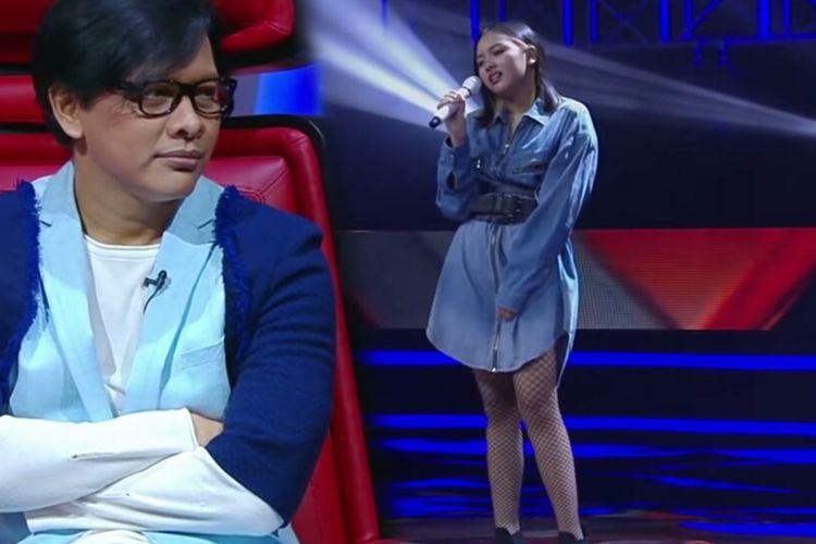 Tangkapan layar kanal YouTube The Voice Indonesia.