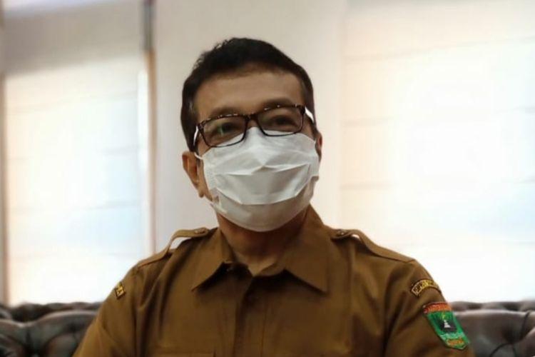Kepala Dinas Kominfo Sumbar Jasman Rizal