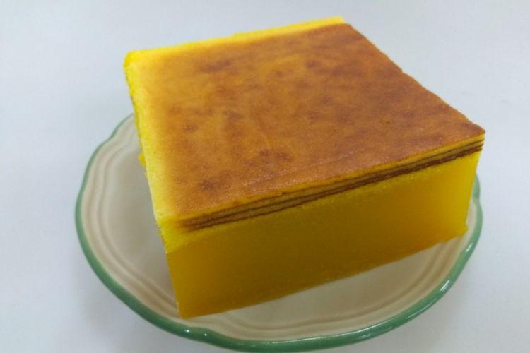 Kue lapis modifikasi dari Nyonyas Heritage.