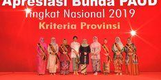 Istri Gubernur Sulsel Raih Penghargaan Bunda PAUD Nasional