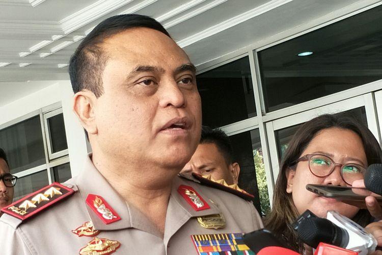 Wakil Kepala Polri Komisaris Jenderal Syafruddin ketika ditemui di Istana Wakil Presiden RI, Jakarta, Kamis (3/5/2018).