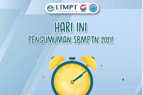 Hari Ini Pengumuman SBMPTN 2021, Cek Link Utama dan 29 Laman Mirror