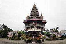 Gereja Katolik dengan Bangunan Mirip Kuil Hindu di Medan