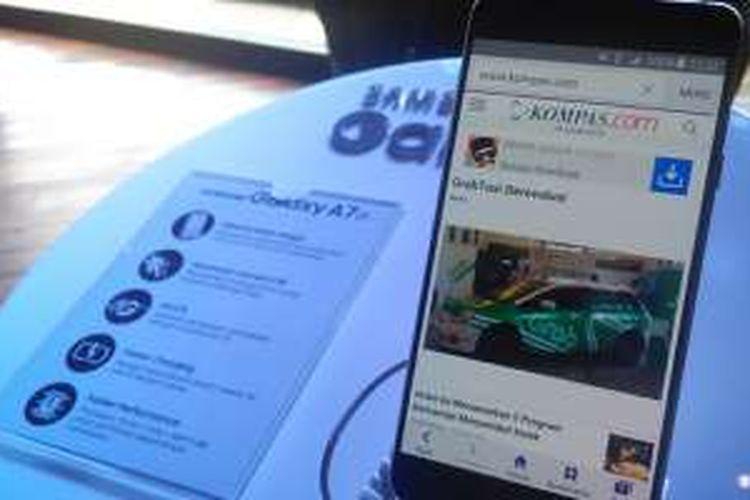 Ponsel Samsung Galaxy A7 versi 2016