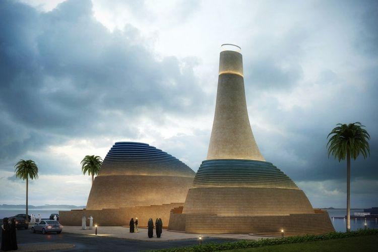 Masjid Al Dana di Abu Dhabi