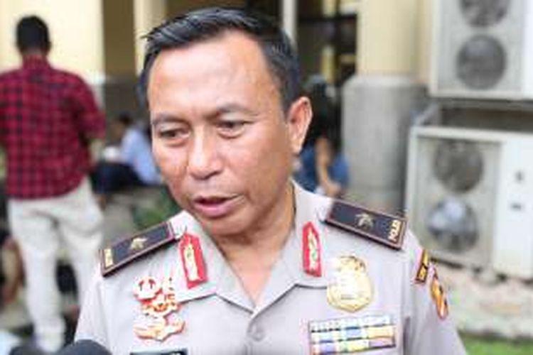 Kepala Bagian Penerangan Umum Polri Kombes Agus Rianto Saat memberikan keterangan di Bareskrim, Jakarta, (7/11/2016).