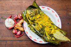 Resep Pepes Tongkol Kemangi, Santap dengan Nasi Liwet