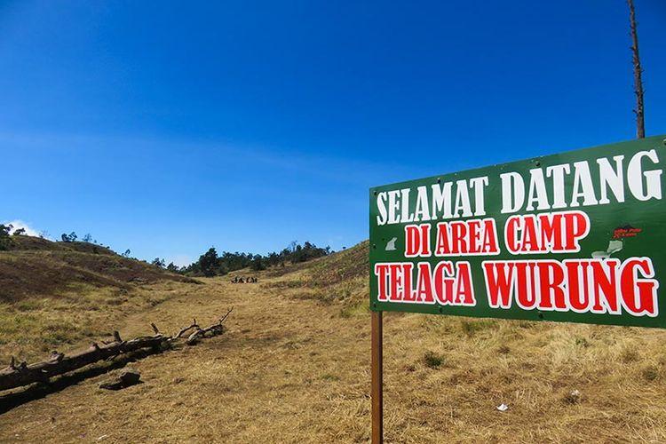 Telaga Wurung, Salah satu area di Gunung Prau.