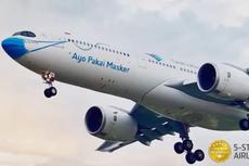 Ada PPKM Mikro, Jumlah Penumpang Garuda Indonesia Kembali Anjlok