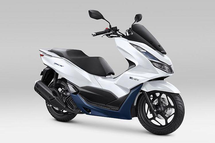 Honda PCX 160 warna putih