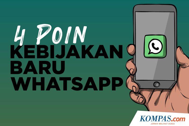 4 Poin Kebijakan Baru Whatsapp