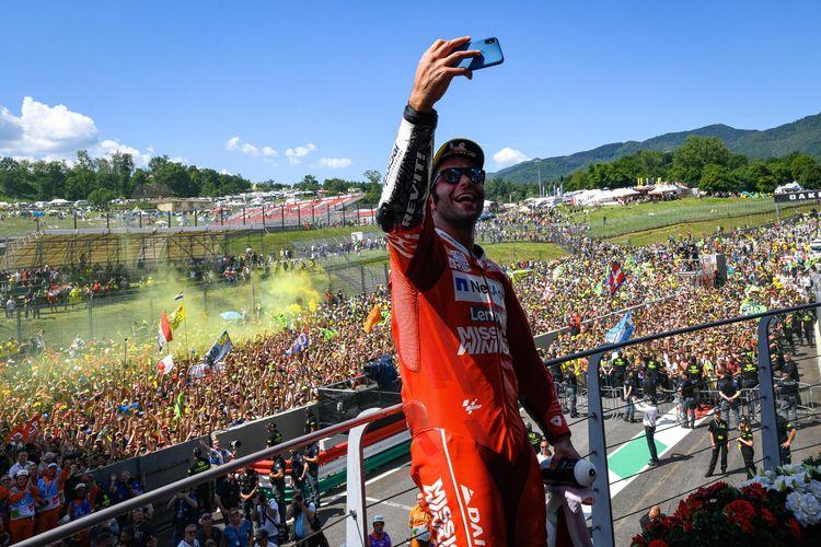 Manajer Petrucci tidak khawatir lagi soal kontrak kliennya dengan Ducati untuk musim depan.