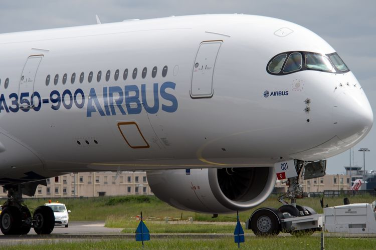 Airbus A350-900.