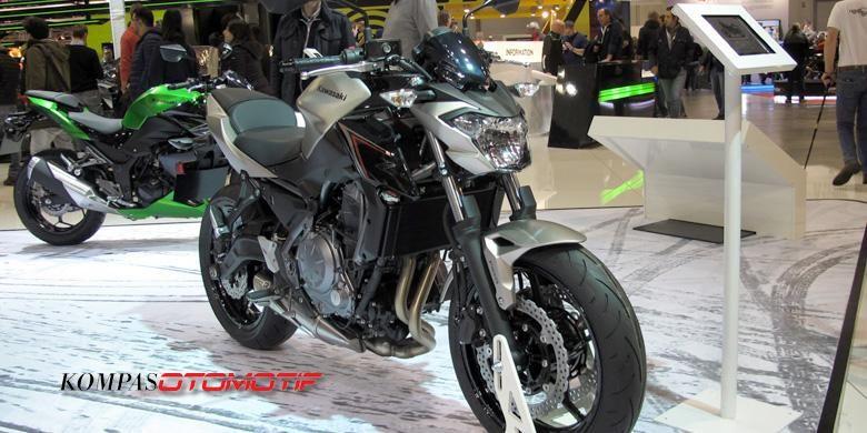 Kawasaki Z650 yang siap menggantikan eksistensi ER-6n dan menjadi pesaing berat Honda CB650F.