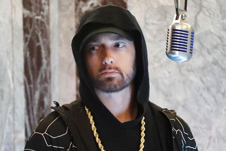 Rapper asal Amerika Serikat Eminem