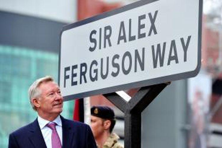 Mantan Manajer Manchester United, Alex Ferguson.