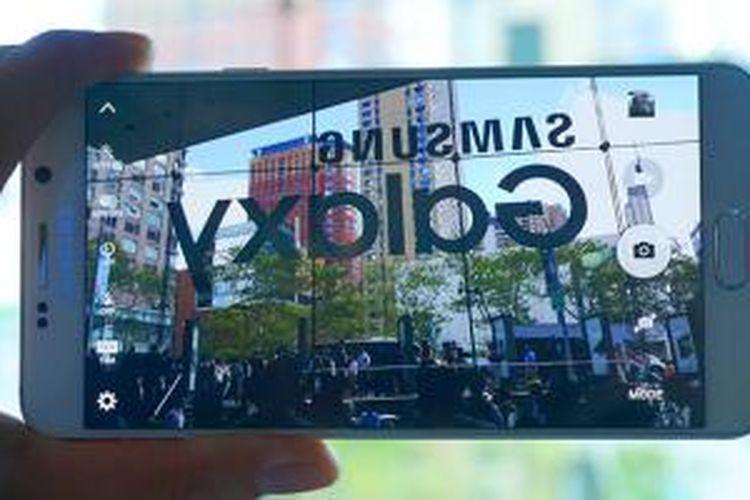 Ilustrasi kamera Galaxy Note 5